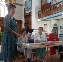 Penny Harrison, Diana Markham, Mrs Meek, Mrs Ridge