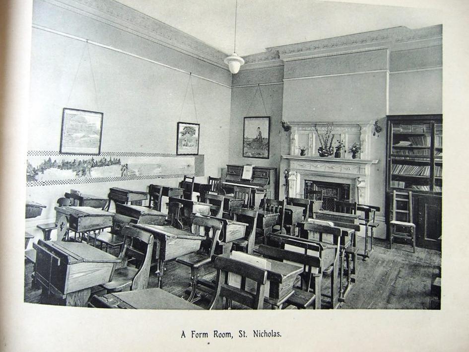 A Form room, St Nicholas.