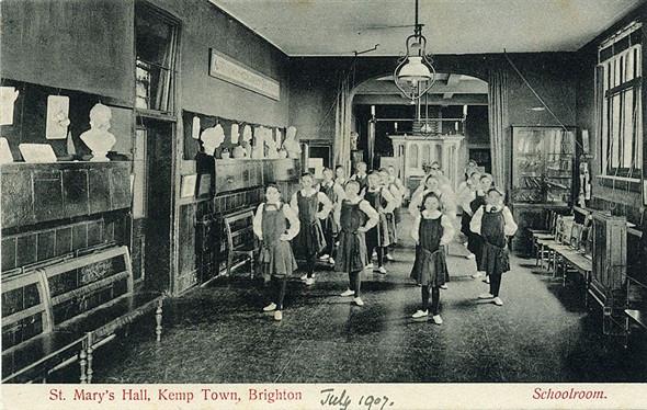 Schoolroom circa 1907