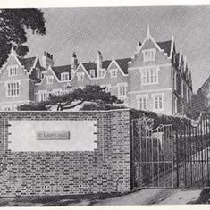 Gates/entrance circa 1966