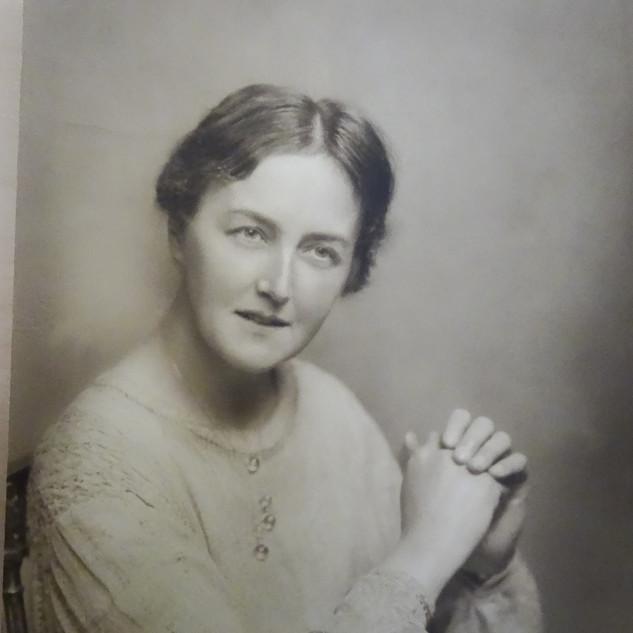 Headmistress Fanny Louise Ghey, c1911.JP