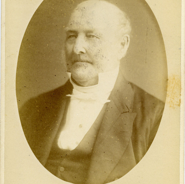 Reverend John Babington, married to Eleanor, sister of our Founder. One of the Boarding Houses was named after him.
