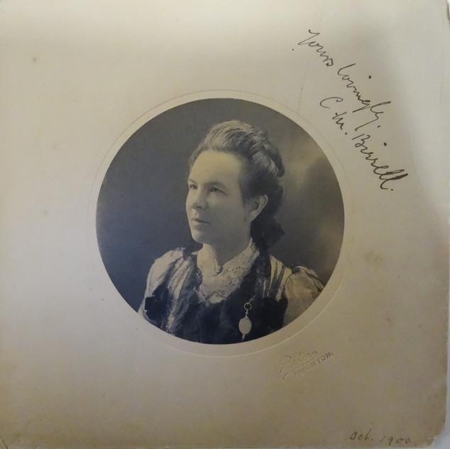 Headmistress Christina Macdowell Burrell