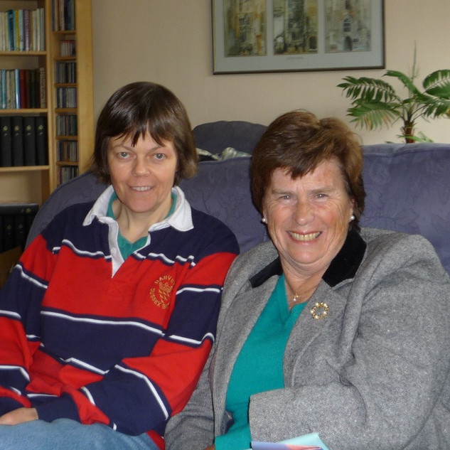 Kathy Howard and 'Miss McEwan'