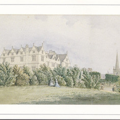 A Water Colour of St Mary's Hall, Brighton, 1847.