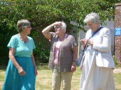 Penny Wright, Pat Chapman & Ruth Wiffen