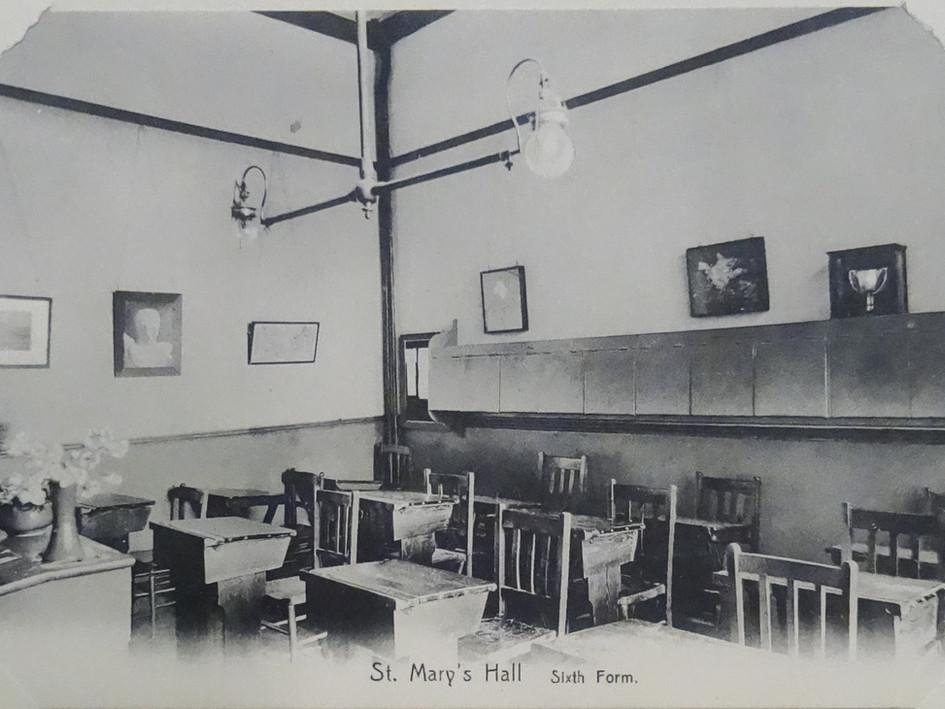 Sixth Form Classroom c1907