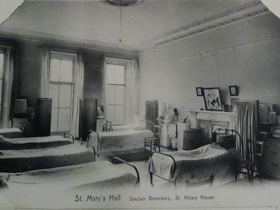 Sinclair Dormitory, St Hilary House c1907