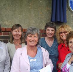 Diana Markham, Liz Clements, Julia Bagshaw, Penny T., Rosemary Haylock, Susan Corringham.