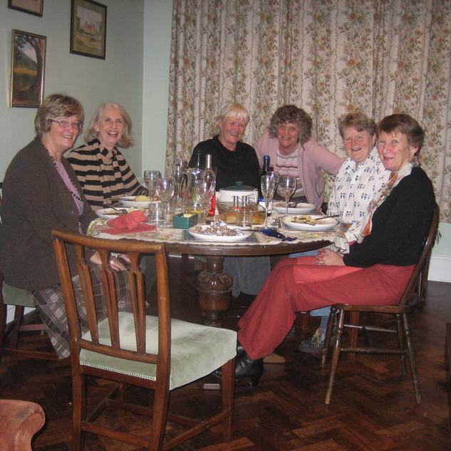 Kindly supplied by Jean Peters - Lizzie Allwright Elizabeth Julyan; Susanne Fopp (Flo); Rosemary Bellamy (Belly); Liz Baker; Alison Vaughan (Tich); Jean Peters.