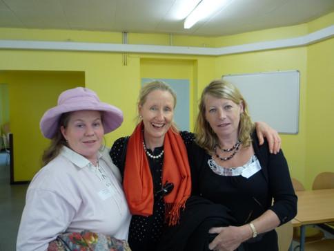 Elisabeth Tooms, Fanny Johnston, Mary Whale