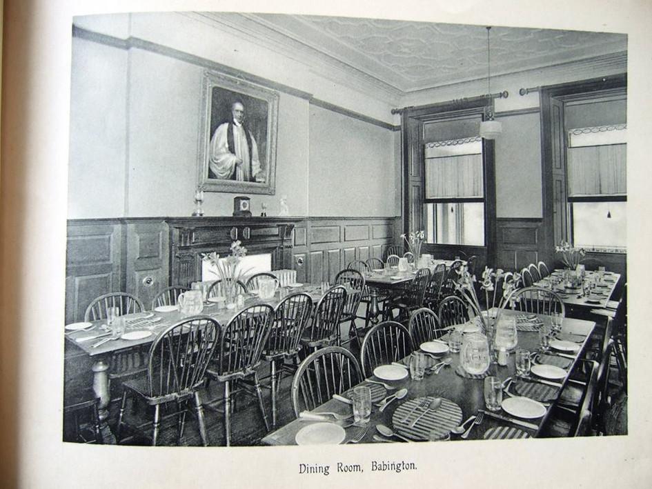 Babington House, Dining room