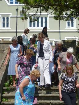 Julia D, Diana M, Anne Fridal, Sue Medley (Corringham), Corinne.