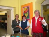 Mrs Leslie, member of Housekeeping, Miss Davies