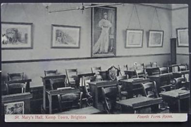 Fourth Form Room, c 1907