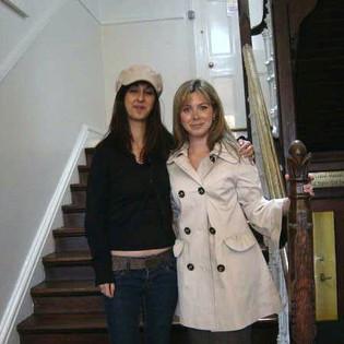 Charlotte Sabel and Yalda Saddigazadeh at Reunion 2007
