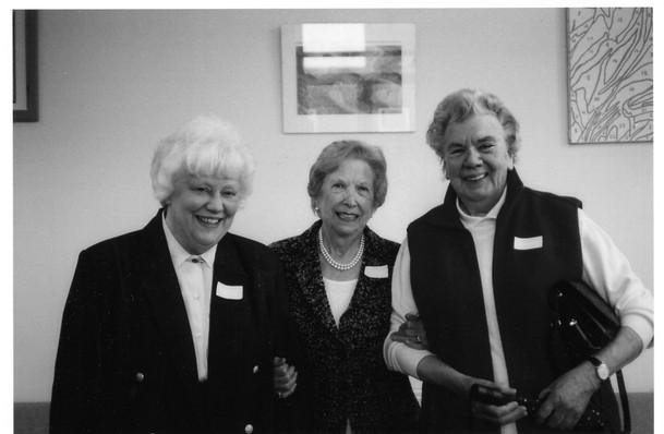 Three wise Heads? Mrs James, Mrs Leslie, Miss Davies