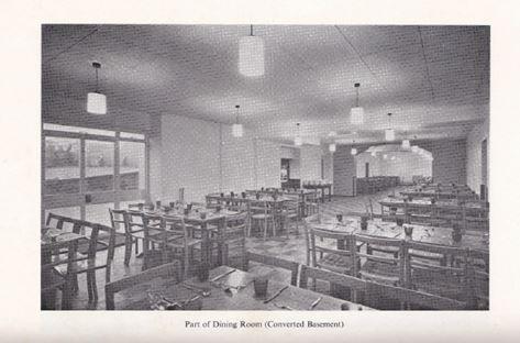 1969 improvements, new dining room (basement)