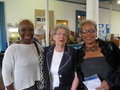 L-R Sandra Pepera (Jantuah), Leone Ratner, Anne Fridal.