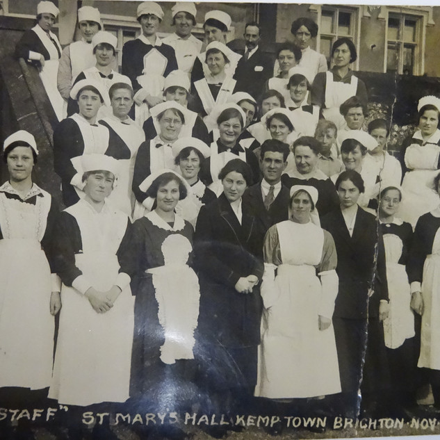 The Staff 1921, (none teaching)- Occasion of the visit of the Princess Royal