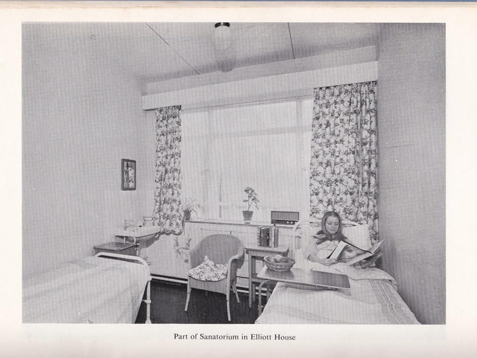 1969 improvements, part of new Sanatorium, adjoining Elliott House