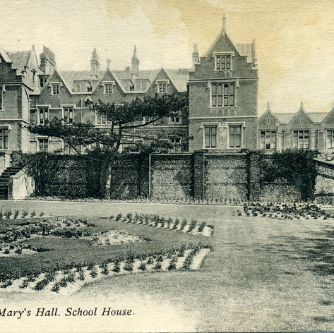 SMH School House & Elliott Wing c 1915 - view from the front terrace.
