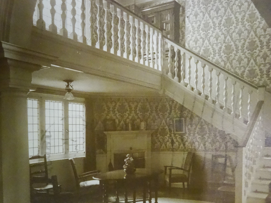 The Reading Room, St Hilary House c1948