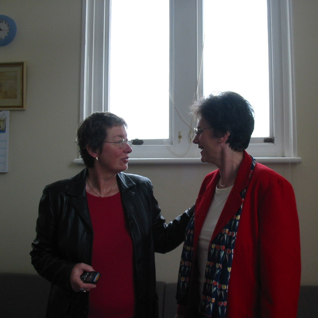 Angelica Meletiou and Frances Bearn
