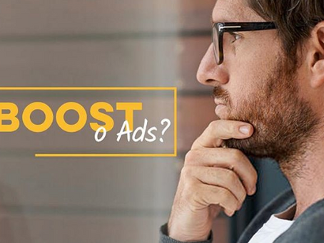 Facebook: ¿Boost o ADS?