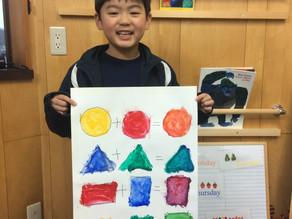 幼稚園生へのCLIL Art Activity