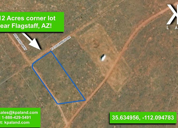 1.12 Acre Vacant Lot in Williams, AZ (APN: 501-36-008)