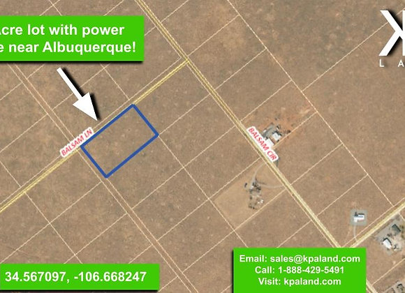 5 Acre Vacant Lot East of Belen, NM (APN: 1013022355085000000) PR