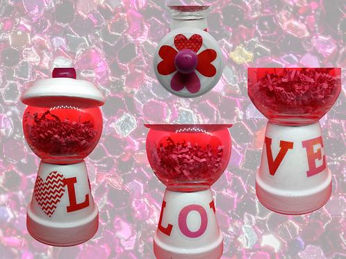 Heart Full of Love Gumball Machine