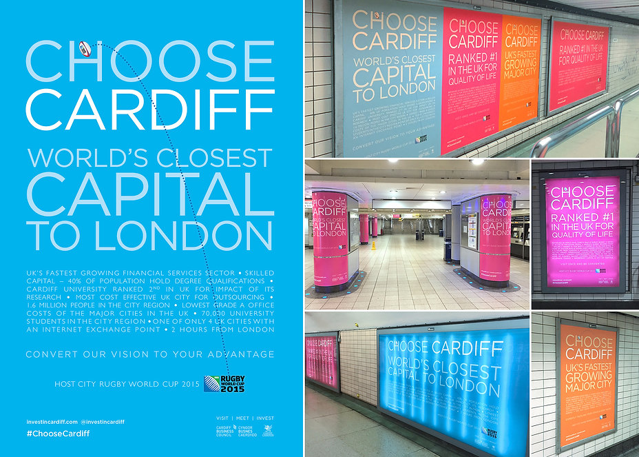 Paddington Station Cardiff Advertising