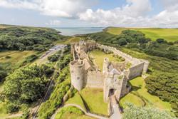 Manobier Castle