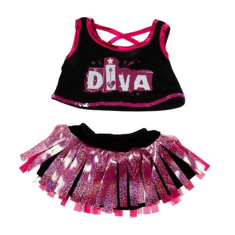 """Diva Girl Outfit 16"""""""