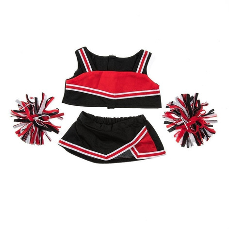 """Black and Red Cheerleader 16"""""""