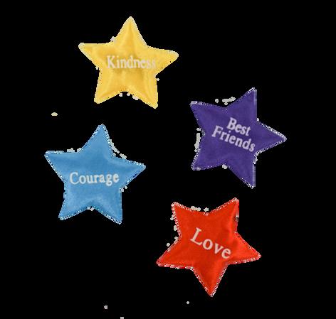 Printed Assorted Stars