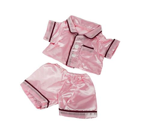 "Pink Satin PJs 8"""