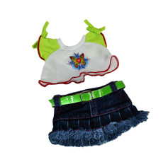 """Butterfly T-Shirt and Skirt 8"""""""