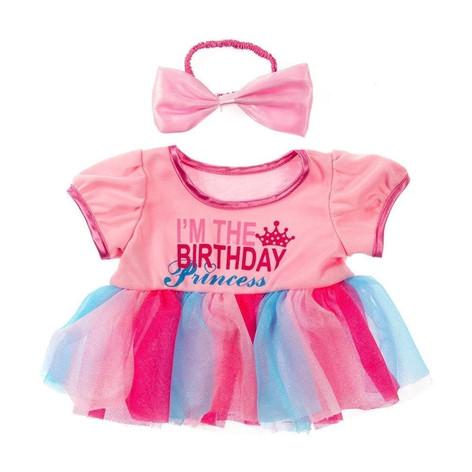 "Birthday Princess with Bow 16"""