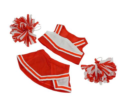 "Red and White Cheerleader 8"""
