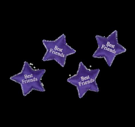 Purple Printed Star Best Friends