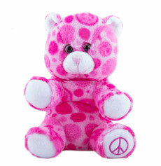 """Peace and Love Bear 8"""" - OUT OF STOCK"""