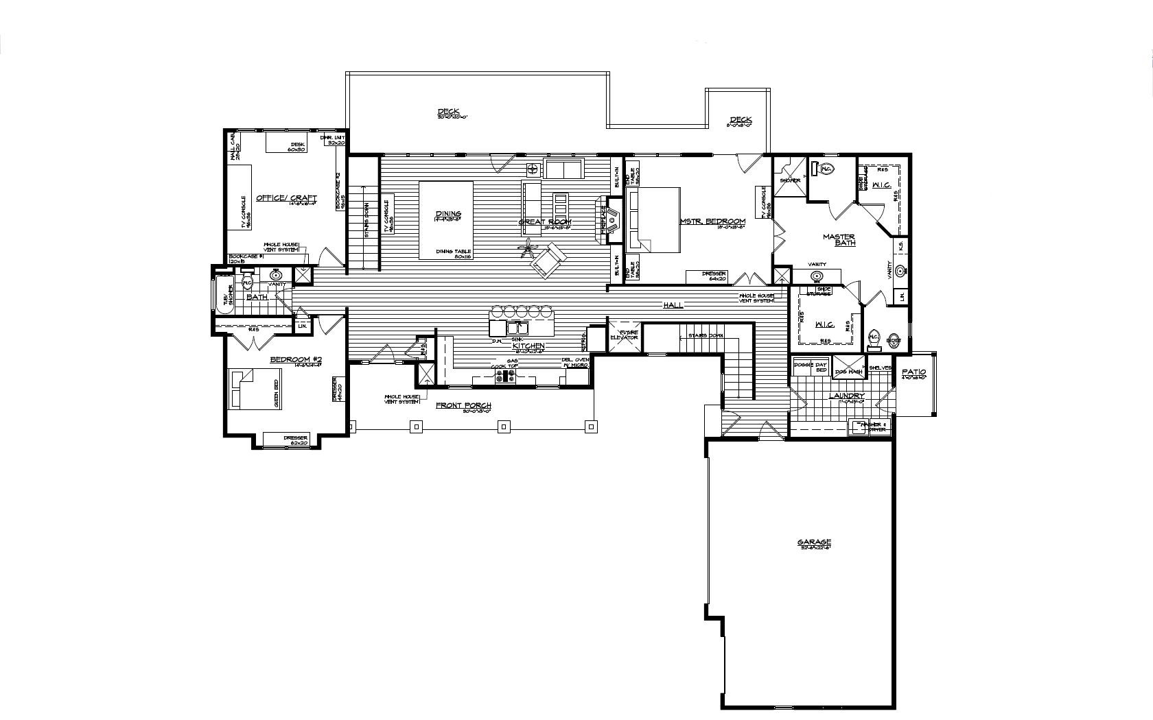 custome house plan