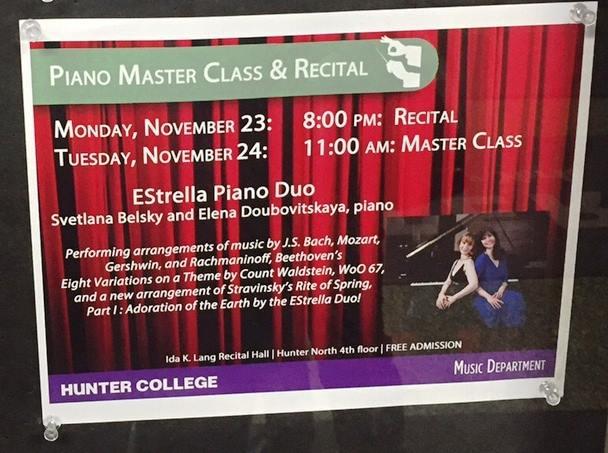 Hunter College Flyer