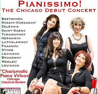 Pianissimo! The Chicago Debut Concert CD