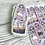 Thumbnail: Lilac mirrored sticker