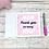 Thumbnail: Mam thank you for being you card