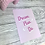 Thumbnail: Dream Plan Do Print